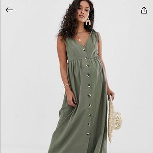 ASOS Maternity button down dress